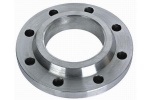 aluminum machined parts / machined flange