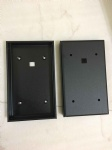 aluminum precision machining parts with black anodized
